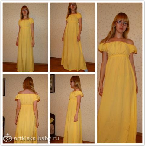 Переделать платье на резинке