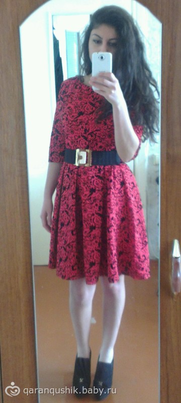 Как ушить с боку платье