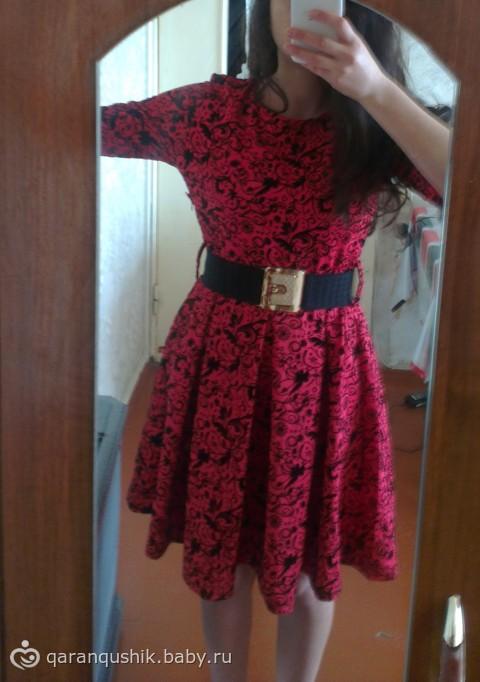 Как ушить бока на платье