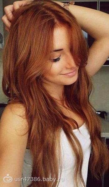 Цвет золотой орех волос