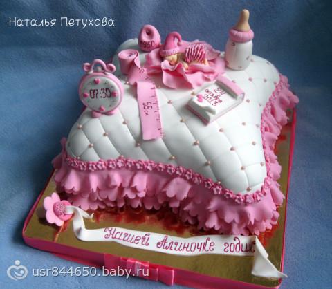 Торт подушечка и фото