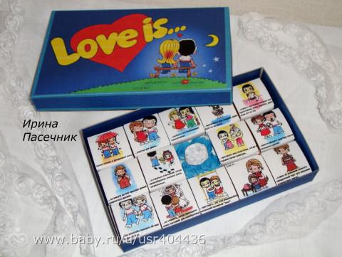Коробка с конфетами для мамы своими руками