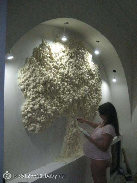 Как сделать дерево из пены фото 316