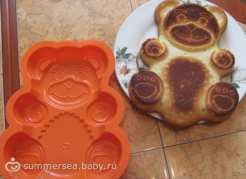 фото тортов из селиконовых форм