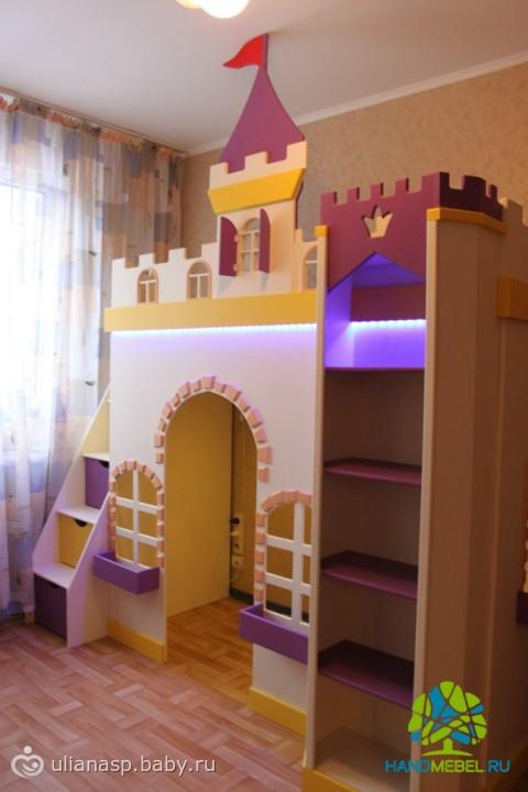 Сделать кровать домик 152