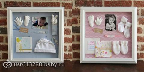 Коллаж фото новорожденных детей