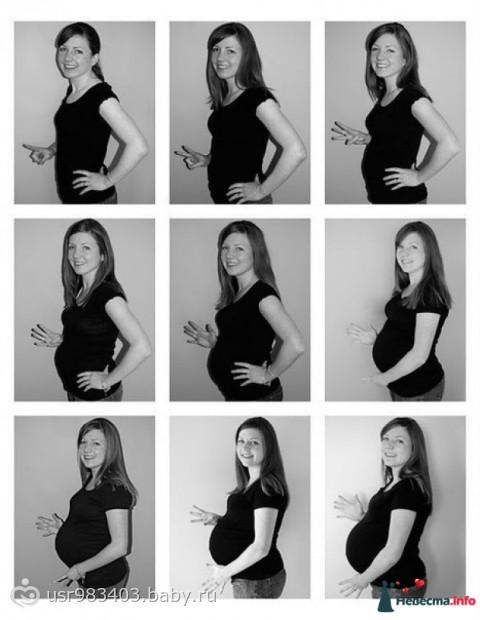 9 месяцев беременность фото