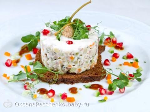 салат оливье рецепт с фото современные