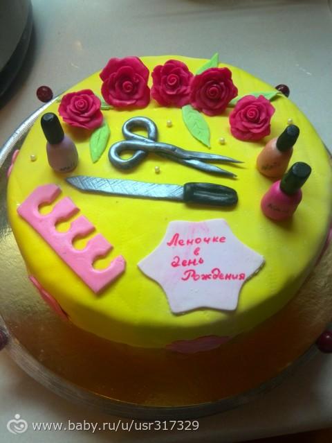 Фото тортов от мастера