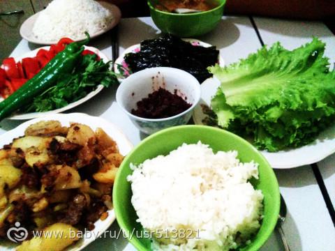 Сями корейское блюдо фото