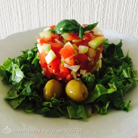 Овощной тартар