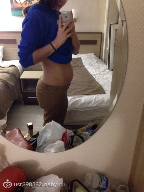 Почему растет живот на ранних сроках беременности