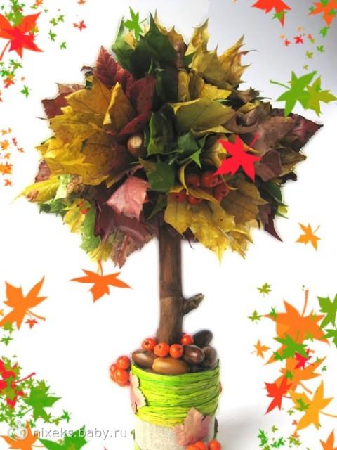 поделка в садик осень фото