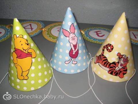 оформление первого Дня Рождения Глебушки в стиле Винни Пух