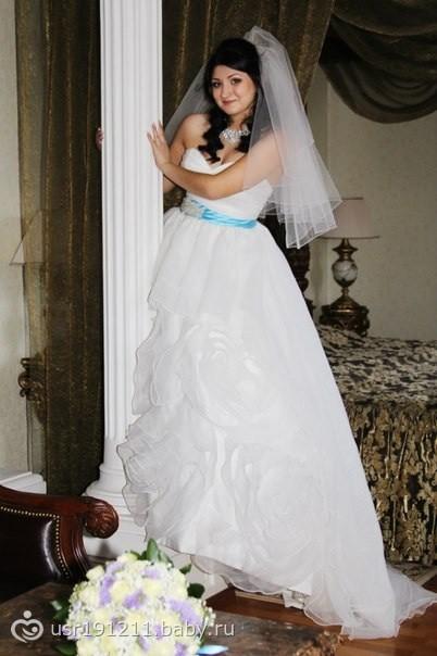 В дар свадебное платье