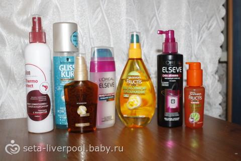 Средство термозащиты для волос